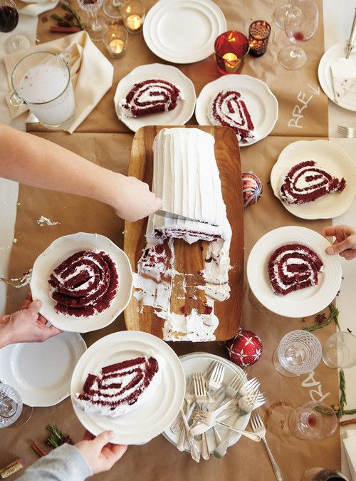 Red Velvet Christmas Yule Log Tried & Approved