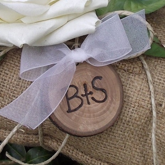Rustic Button For Bridal Bouquet Wedding Bliss