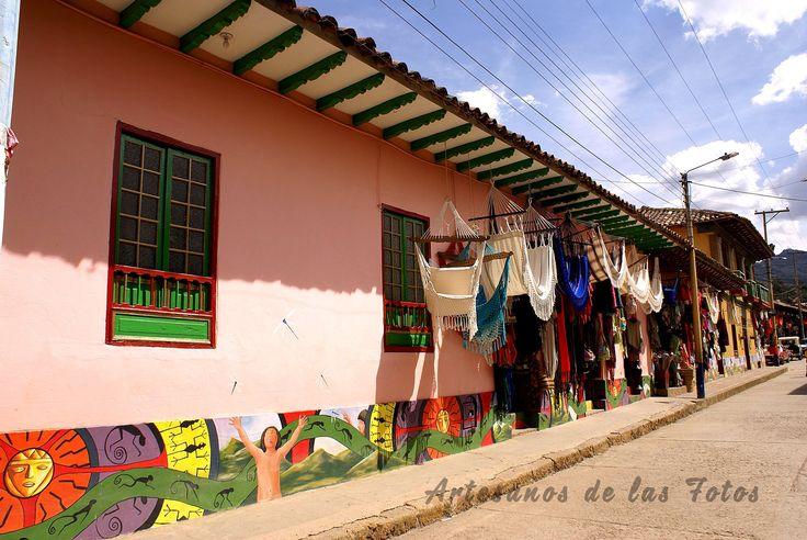 Ráquira, capital artesanal de Colombia