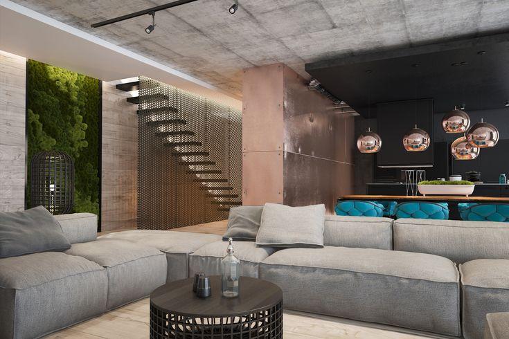 zooi design ukraine / copper project loft