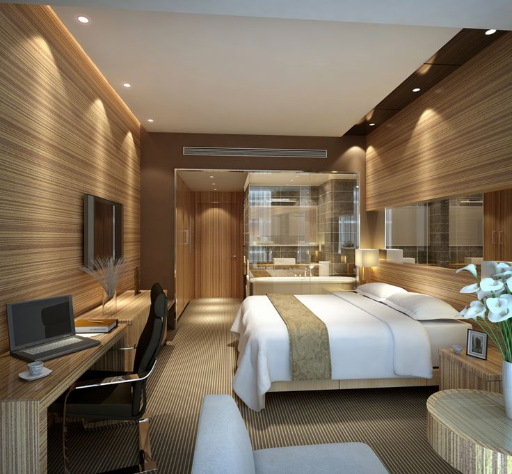 Image Detail For Modern Hotel Room Interior 3d Scene Free 3ds