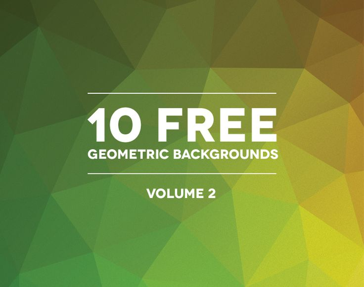 2nd Volume of Free Polygonal Background Textures