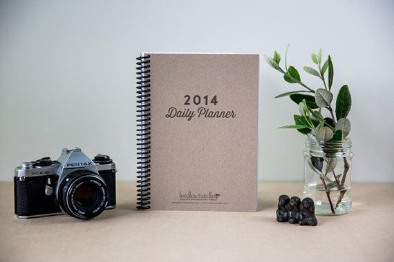 2014 Daily Planner - Diary - Toodles Noodles Limited Edition on Etsy, $35.14 AUD