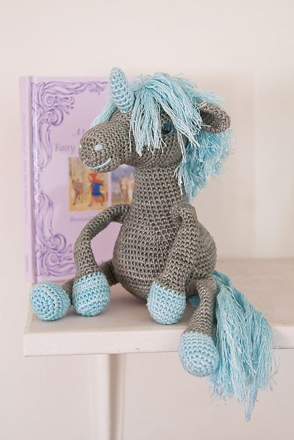 Ravelry: Amigurumi Unicorn  pattern by Stephanie Davies