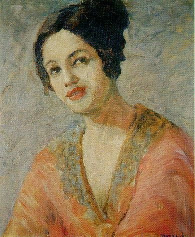 Tarsila do Amaral (Brazilian, 1886 -1973) - Self portrait