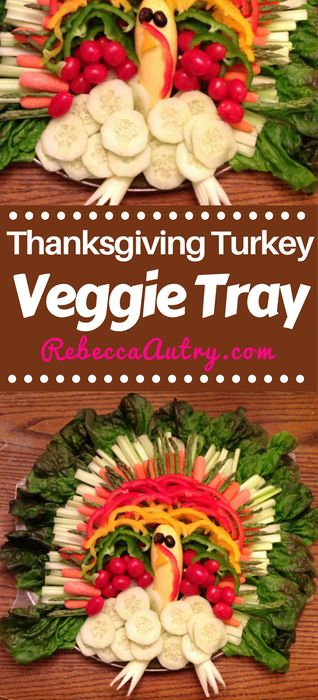 Thanksgiving Turkey Veggie Tray #Thanksgiving #TurkeyTray #Veggies #Turkeyveggie #Food #Vegetables