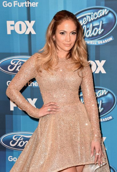 """Jennifer Lopez Photos - Actress/Singer Jennifer Lopez attends FOX's """"American Idol"""" Finale For The Farewell Season at Dolby Theatre on April 7, 2016 in Hollywood, California. at Dolby Theatre on April 7, 2016 in Hollywood, California. at Dolby Theatre on April 7, 2016 in Hollywood, California. - FOX's 'American Idol' Finale For The Farewell Season - Arrivals"""