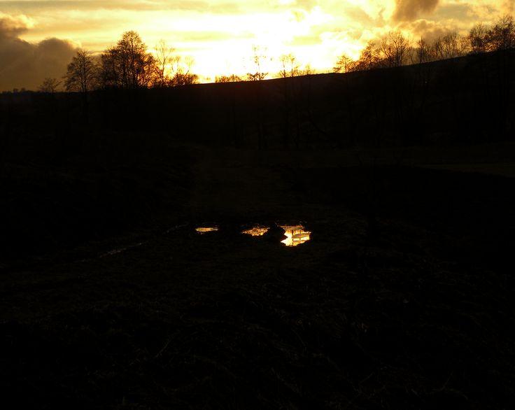 Reflexii, cioburi de cer si lumuna