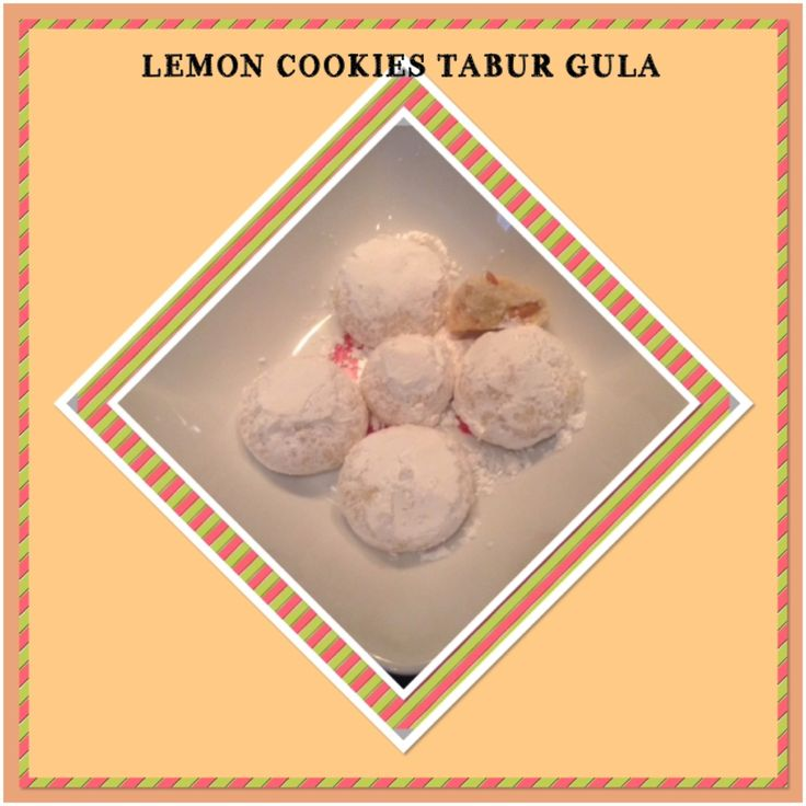 LEMON COOKIES TABUR GULA