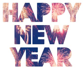 happy new year animated GIF