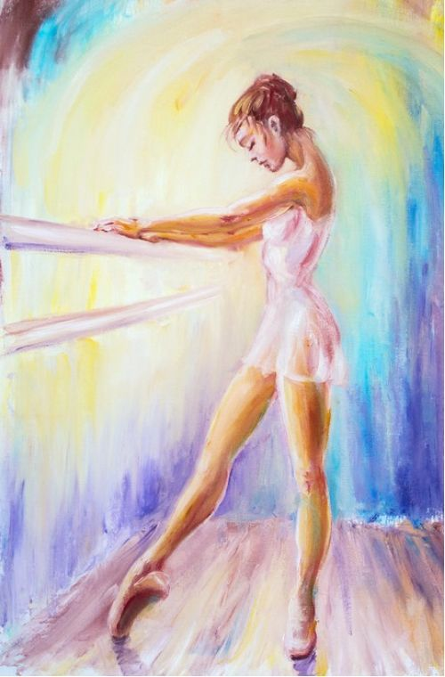 At the barre from $34.99  | www.wallartprints.com.au #ImpressionismArt