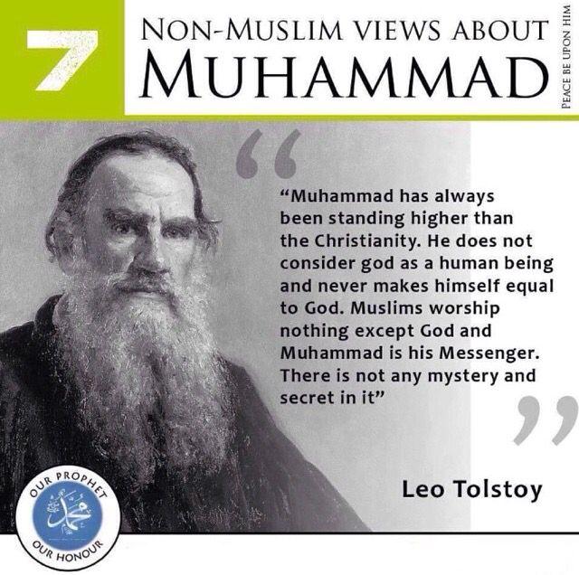 Muhammad Salalahu Alayhi Wasalam from the eyes of a non-muslim