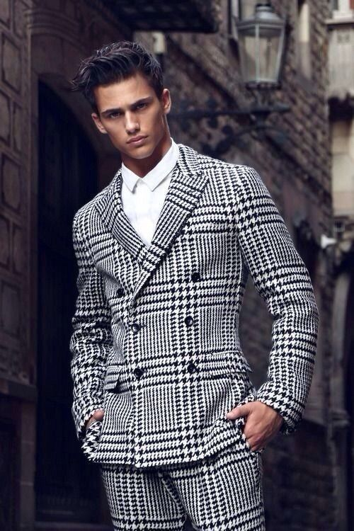 Urban gentleman fashion