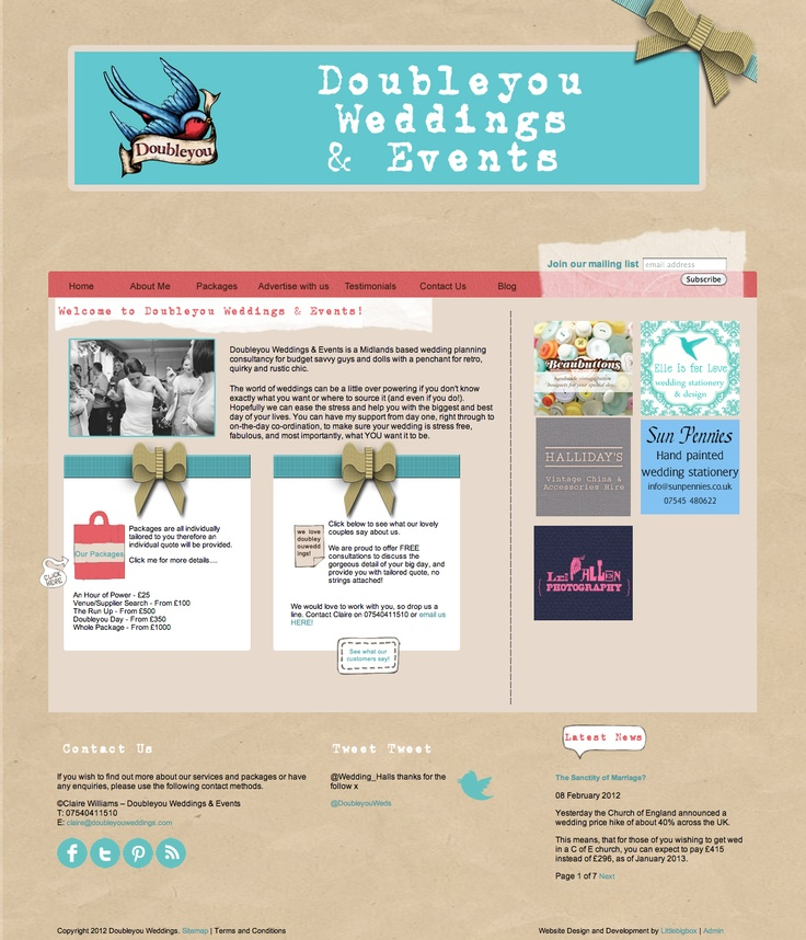 wedding ideas websites doubleyou weddings website design interactive design ux 27941