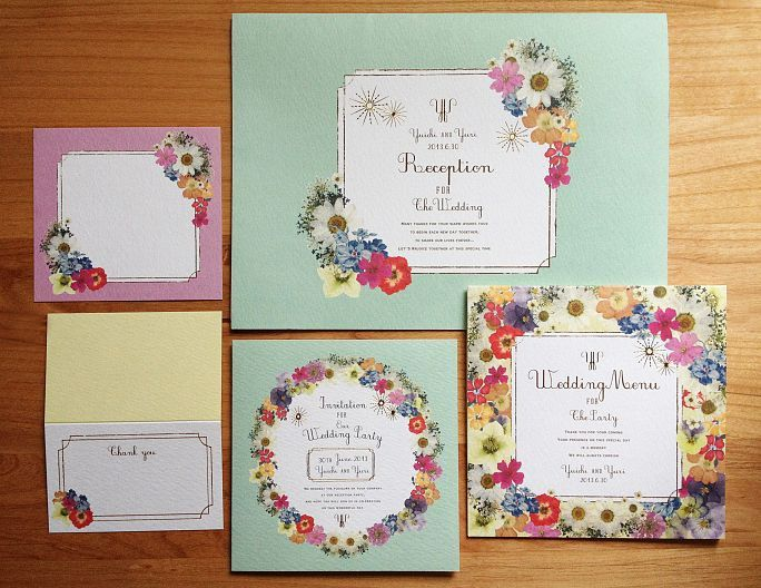 JAPAN wedding CREATORS/【オーダーペーパーアイテム / Flower】