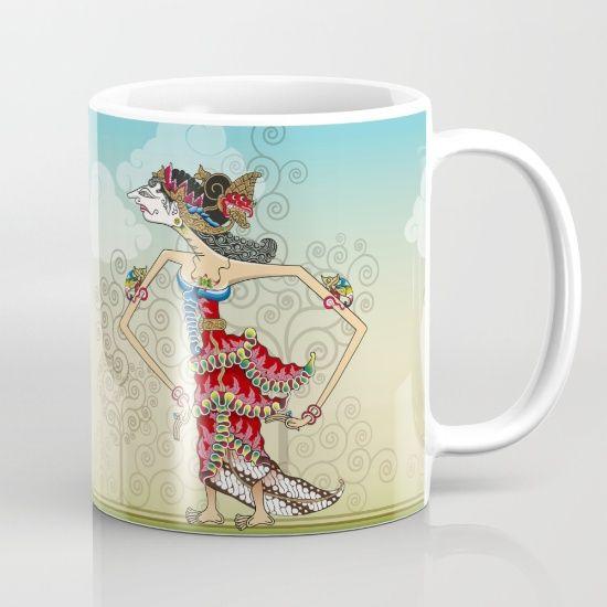 wayang Princess Srikandi Mug
