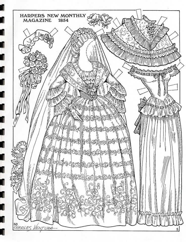 madame alexander coloring pages | 529 best images about Paper Doll: Wedding on Pinterest ...