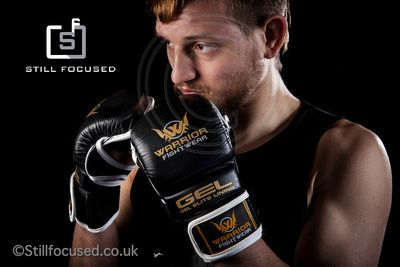 MMA fight wear shoot for Warrior Fight Wear in Norwich by photographer Jerry Daws, providing quality photography in Norfolk.