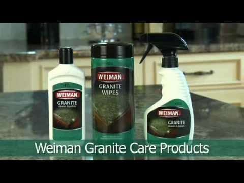 Weiman Products Instructional Video On How To Properly Clean And Polish  Your Granite And Stone Countertops