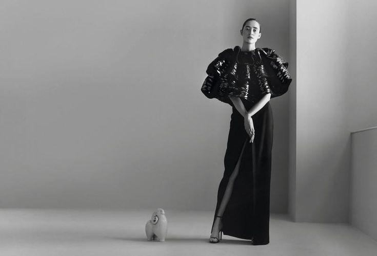 VANITY FAIR Model : Helena Severin - Photo : Paul Wetherell - Make Up : Christine Corbel - Styling : Michael Philouze - Art Director : Virginie Mouzat - Hair : Nicolas Jurnjack - Producer : Margot Geitner @V+E Production