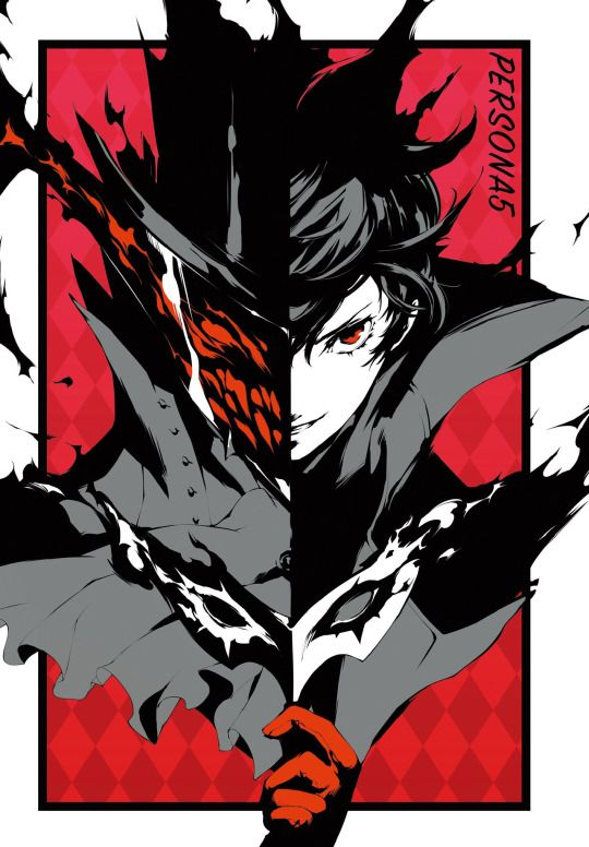 Persona 5Ahh!!!! Akira and Arsene, so cool!!!