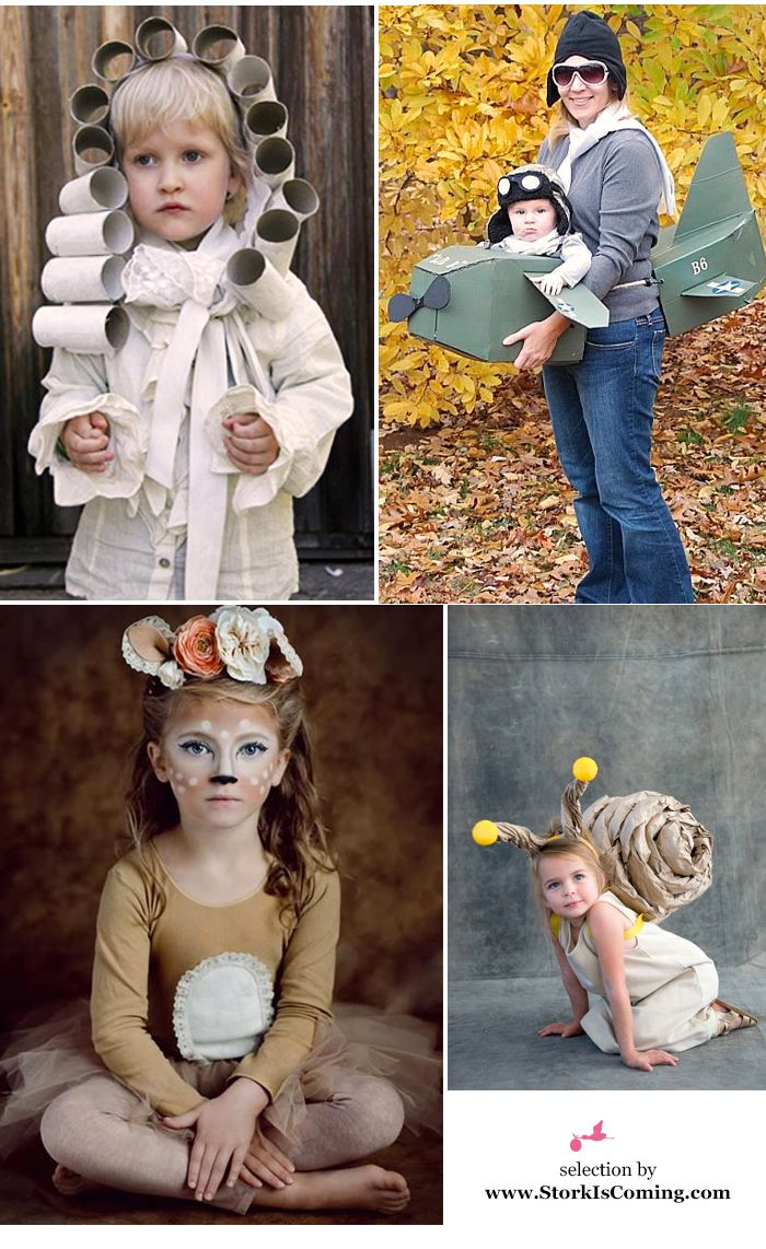 DIY carnival costumes for kids