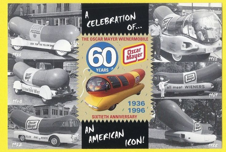 Oscar Mayer Wienermobile on oscar meyer weiner pedal car