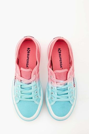 Candy Coated Sneakers | Spice up an outfit w/ this hot laid back yet edgy shoe choice. they look like that mulltie colored cotten candy but LOVE THEM SOOOOOOOO MUCH!!!!!!!!!!
