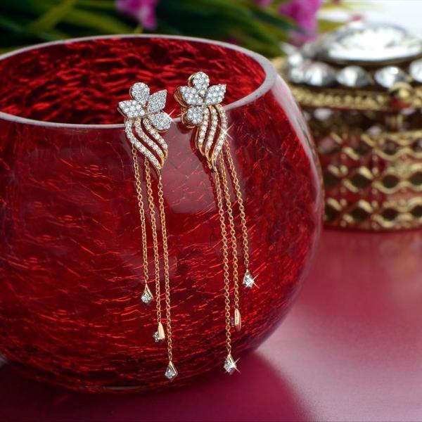 jewellery | diamond | earrings