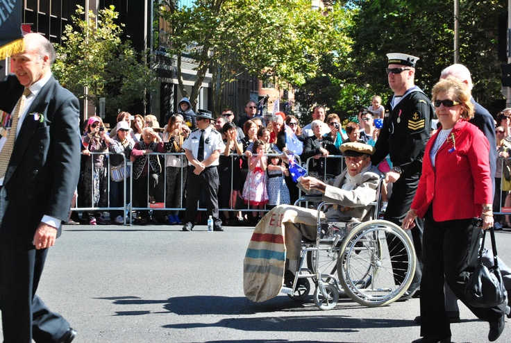 It was a beautiful day in Sydney for the ANZAC Day March
