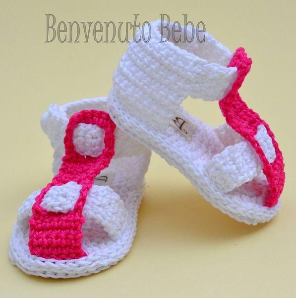 Baby Sandals/ Sandali per Bebe/Gladiator Sandals di benvenuto bebe su DaWanda.com