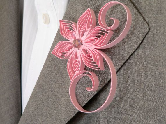 Blush Pink Boutonniere, Blush Buttonhole, Blush Wedding, Simple Boutonniere, Wedding Flower for Men, Floral Buttonholes for Weddings