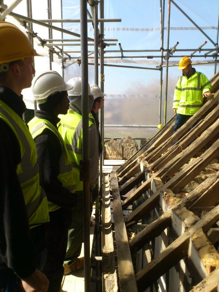 Team outing getting to know a #Heritage #Restoration project before getting stuck in! #Team #Nutshell #Construction #Sussex