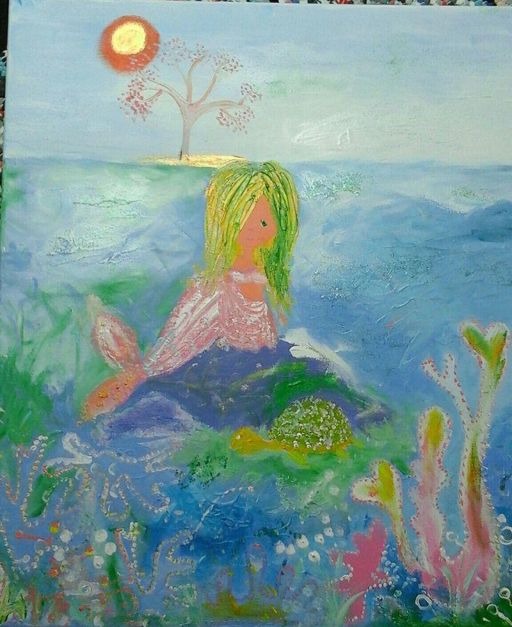 De zeemeermin made by #AnneliesMekel Saturday 6 mei