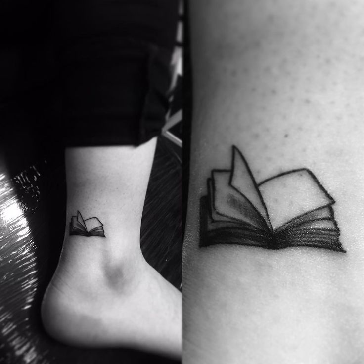 36 perfect book tattoos that every book lover can reflect on