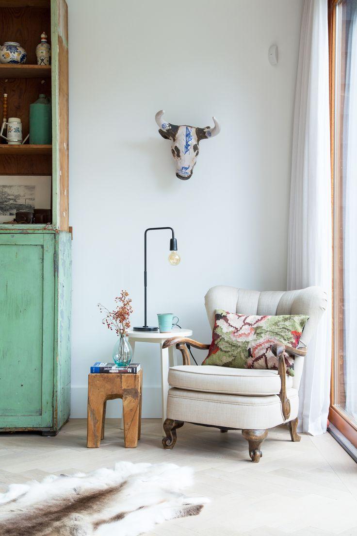 interior styling green