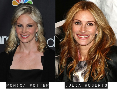 Monica Potter Julia Roberts Lookalike Pinterest