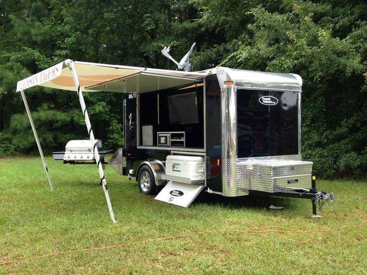 Towable Tailgates Photo Galleries Beasonu0027s 2013 Clemson Extreme Tailgater & 10 best Tiger Tailgating images on Pinterest | Tailgating ...