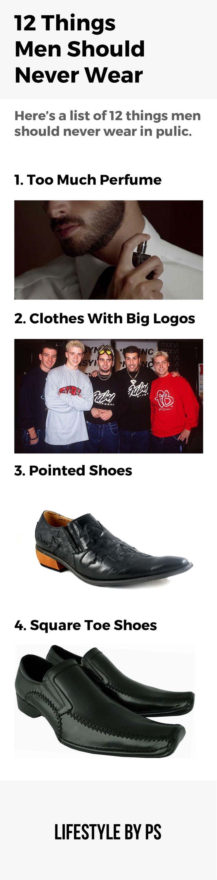 Things Men Should Not Wear In Public