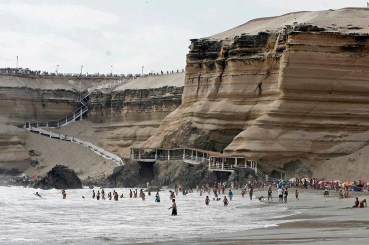 Playa la portada, Antofagasta