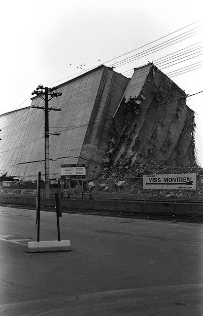 Demolition, Old Port, Montreal 1978 by 365Bob, via Flickr