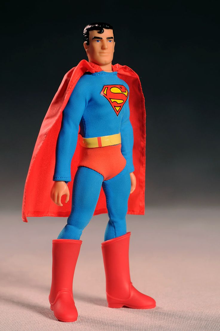 Claasic vintage toys vintage toys second shout out http www - Retro Action Dc Superheroes Superman Action Figure By Mattel