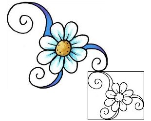 Show details for Daisy Tattoo PPF-02022                                                                                                                                                                                 More