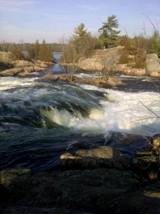 Burleigh Falls  Ontario Canada