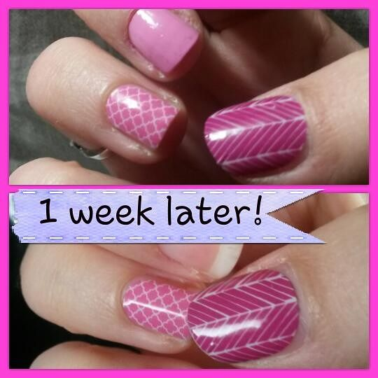 Jamberry wraps are easy to apply and last!