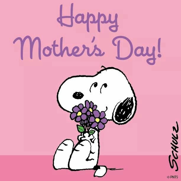 Happy Mother's day #Snoopy #Peanuts #Schulz