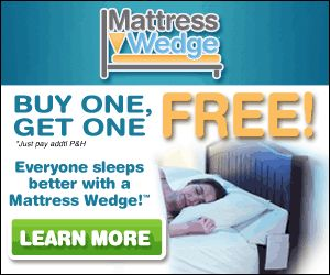 Sleep Better With Mattress Wedge