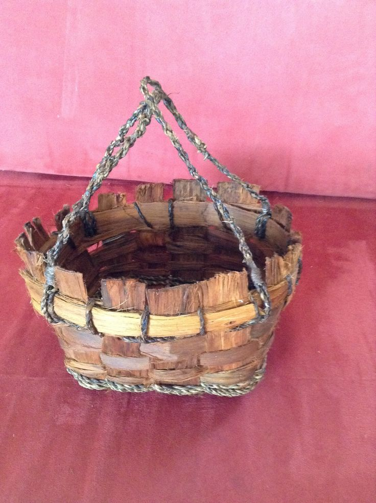 Made with bark from Euc. Globoidea ( White stringy) and willow