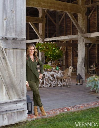 New Year's Toast: A Fashionable Lunch With Aerin Lauder.
