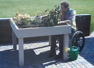 1000 images about accessible gardening on pinterest for Gardening tools for disabled